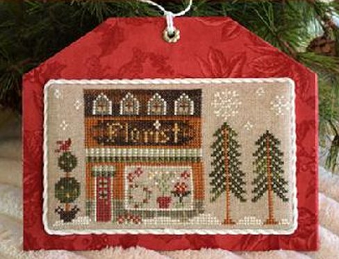 Little House Needleworks Home Town Holidays #8 ~ Florist