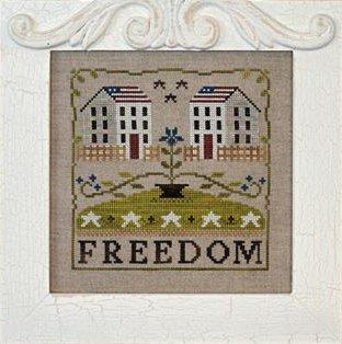 Little House Needleworks Freedom House