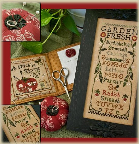 Little House NeedleworksThreadpack ~ Fresh From The Garden