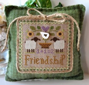 Little House Needleworks Little Sheep Virtues #9 ~ Friendship