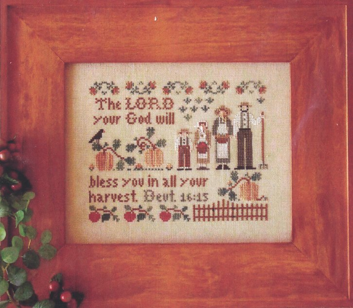 Little House Needleworks The Harvesters