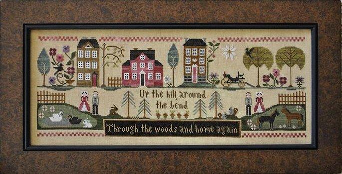 Little House Needleworks Hillside Travelers