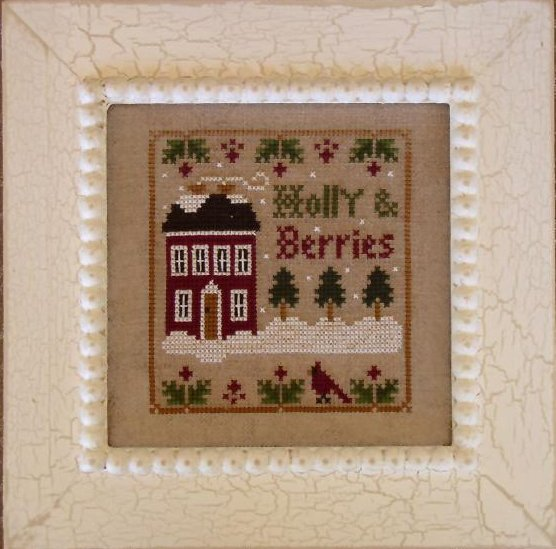 Little House Needleworks Holly & Berries
