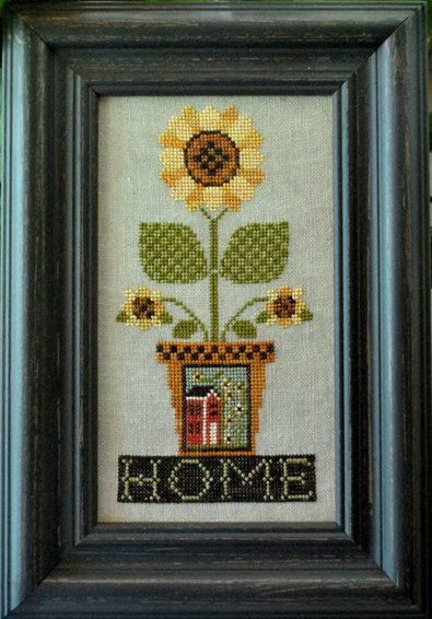 Little House Needleworks Home Is Where The Sunflowers Grow