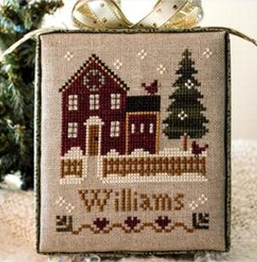 Little House Needleworks Home Town Holidays #1 - My House