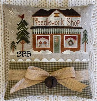 Little House Needleworks Home Town Holidays #15 - Needlework Shop