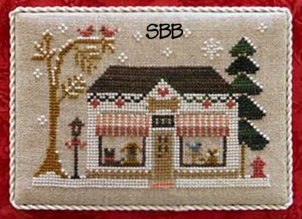 Little House Needleworks Home Town Holidays #9 ~ Pet Store