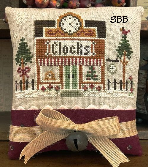 Little House Needleworks Home Town Holidays #17 - The Clockmaster