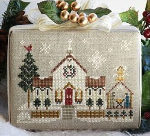 Little House Needleworks Home Town Holidays #6 ~ Town Church