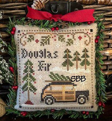 Little House Needleworks Jack Frost's Tree Farm #2 Douglas Fir