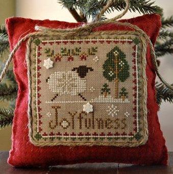 Little House Needleworks Little Sheep Virtues #12 ~ Joyfulness