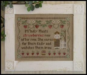 Little House Needleworks M'Ladys Strawberries