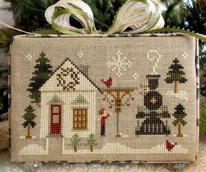 Little House Needleworks Home Town Holidays #2 - Main Street Station