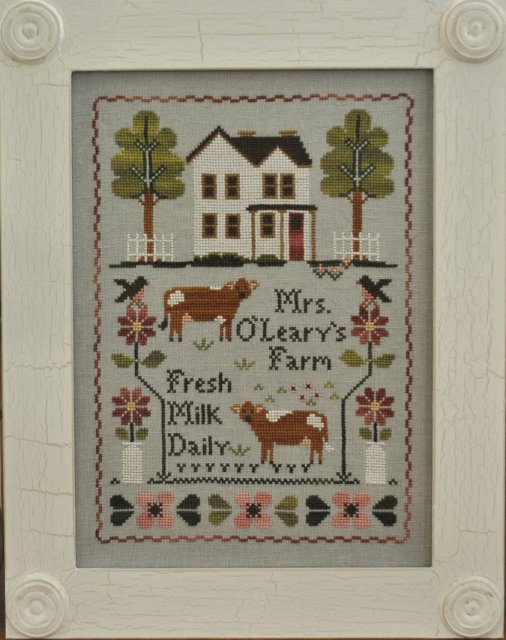 Little House NeedleworksMrs. O'Leary's Dairy Farm