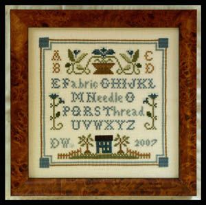 Little House Needleworks Necessities Sampler