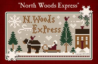 Little House Needleworks & Classic Colorworks Threadpack North Woods Express