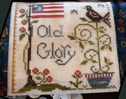 Little House Needleworks Old Glory