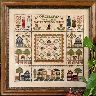 Little House Needleworks Orchard Valley Quilting Bee
