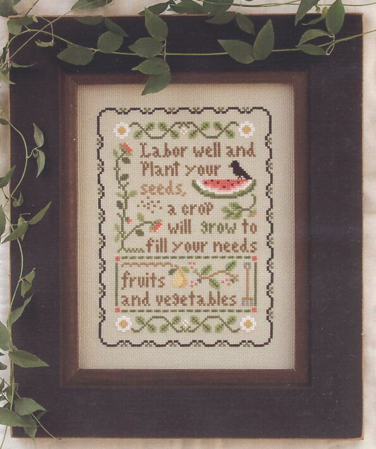 Little House Needleworks Plant Your Seeds