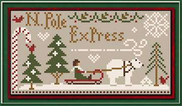 Little House Needleworks & Classic Colorworks Threadpack North Pole Express