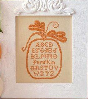 Little House Needleworks Pumpkin Alphabet Silk Threadpack