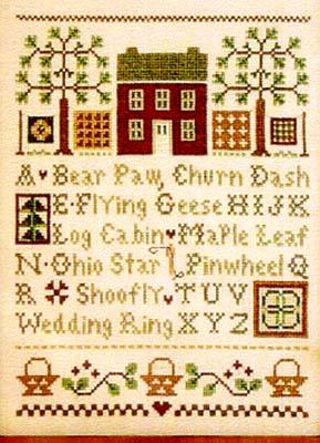 Little House Needleworks Quilt Time Sampler