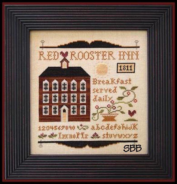 Little House Needleworks Red Rooster Inn