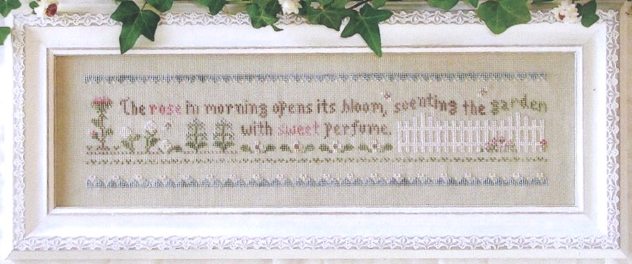 Little House Needleworks The Rose in Morning