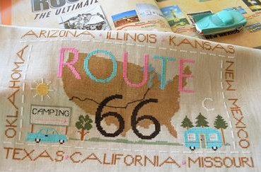 Little House Needleworks Route 66