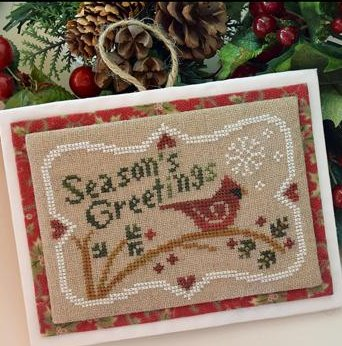 Little House Needleworks Seasons Greetings
