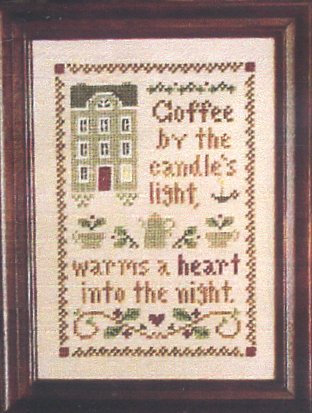 Little House Needleworks Spot of Coffee