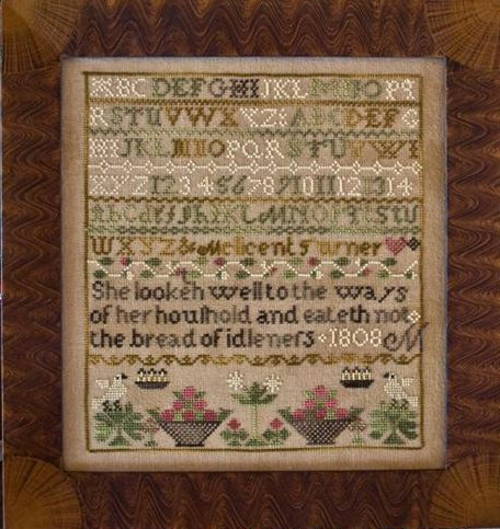 Little House Needleworks The Melicent Turner Sampler