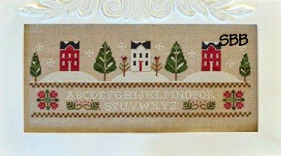 Little House Needleworks Three Snowy Hills