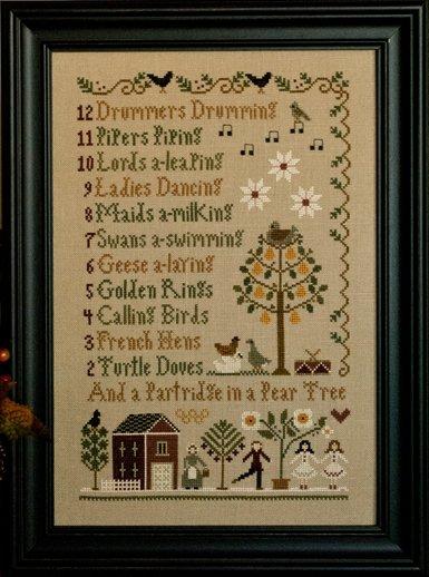 Little House NeedleworksTwelve Days of Christmas