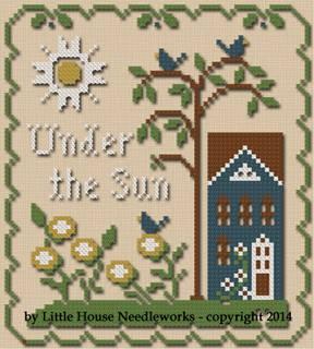 Little House Needleworks & Classic Colorworks Threadpack  Sun, Moon & Stars #3 Under The Sun