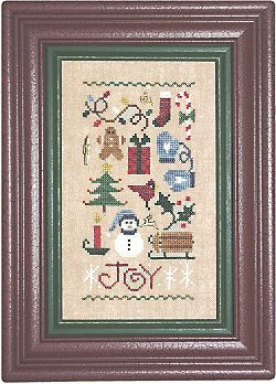 Lizzie*Kate Charts101 Joy Sampler With Charms