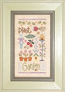Lizzie*Kate Charts103 Garden Sampler With Charms