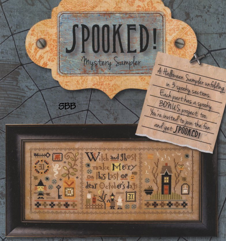 Lizzie*Kate ChartsSpooked (set of 3)