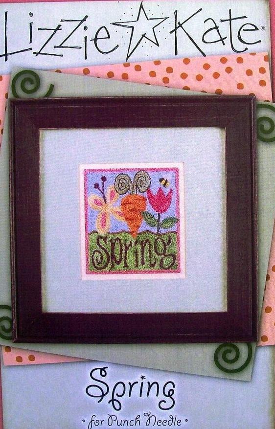 Lizzie*Kate ChartsPN001 Spring Punchneedle