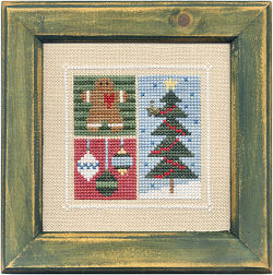 Lizzie*Kate December Flip-It Blocks