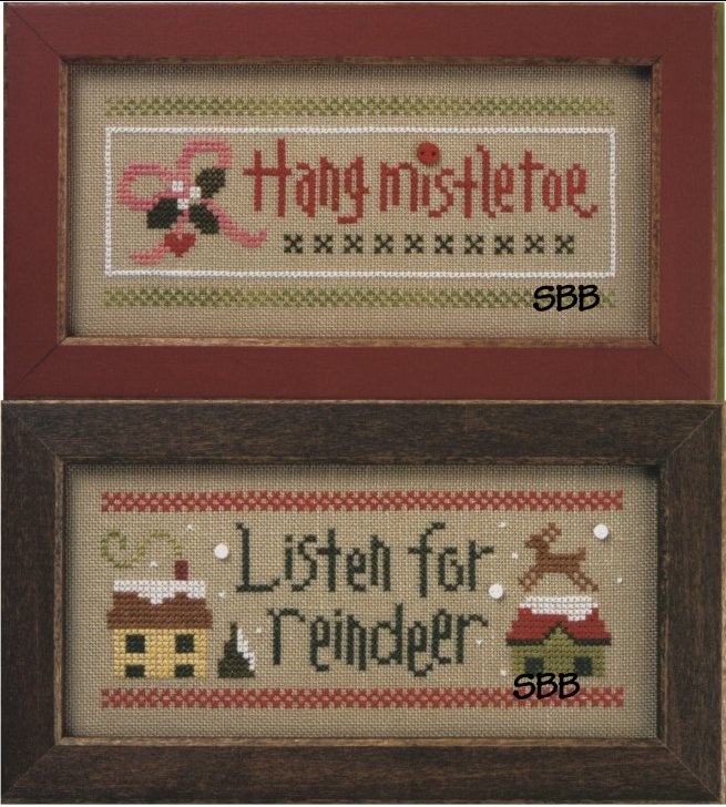 Lizzie*Kate Flip-ItListen For Reindeer / Hang Misteltoe