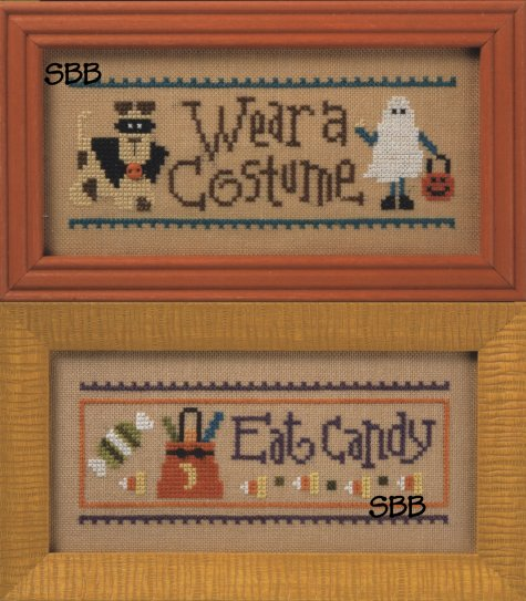 Lizzie*Kate Wear a Costume / Eat Candy