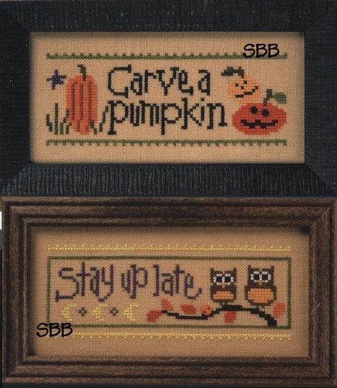 Lizzie*Kate Flip-It Carve a Pumpkin / Stay Up Late
