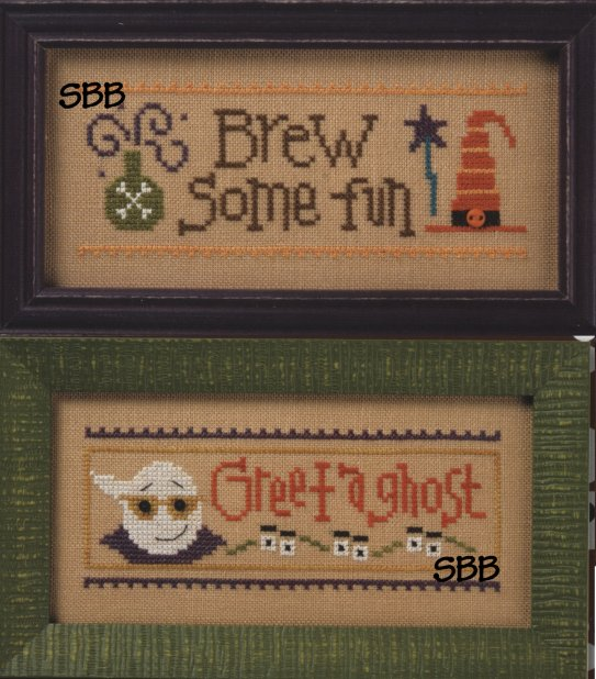 Lizzie*Kate Flip-It Brew Some Fun/Greet A Ghost