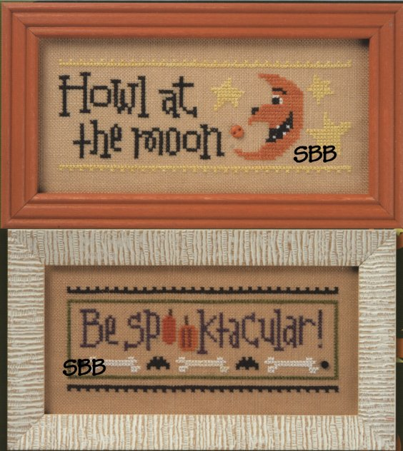 Lizzie*Kate Flip-It Howl at the Moon/Be Spooktacular
