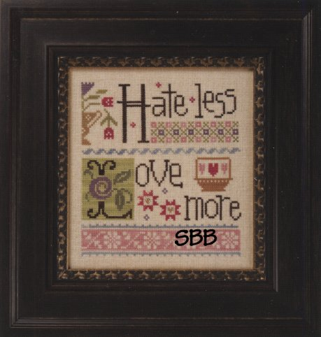 Lizzie*Kate Flip-It Hate Less ~ Love More