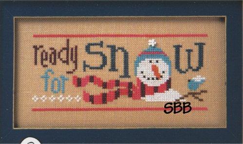 Lizzie*Kate Flip-It Ready For Snow