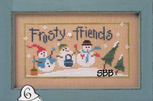 Lizzie*Kate Frosty Friends