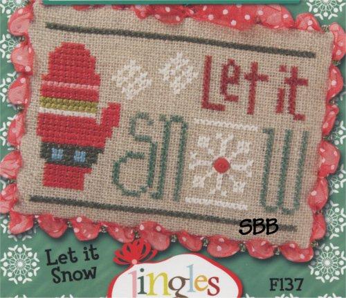 Lizzie*Kate Flip-It Let It Snow