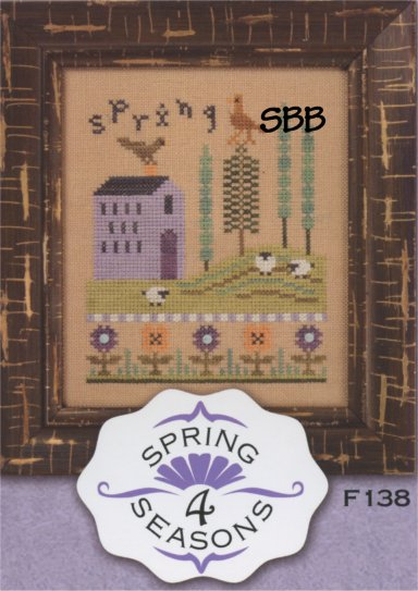 Lizzie*Kate Flip-It F138 4 Seasons Spring